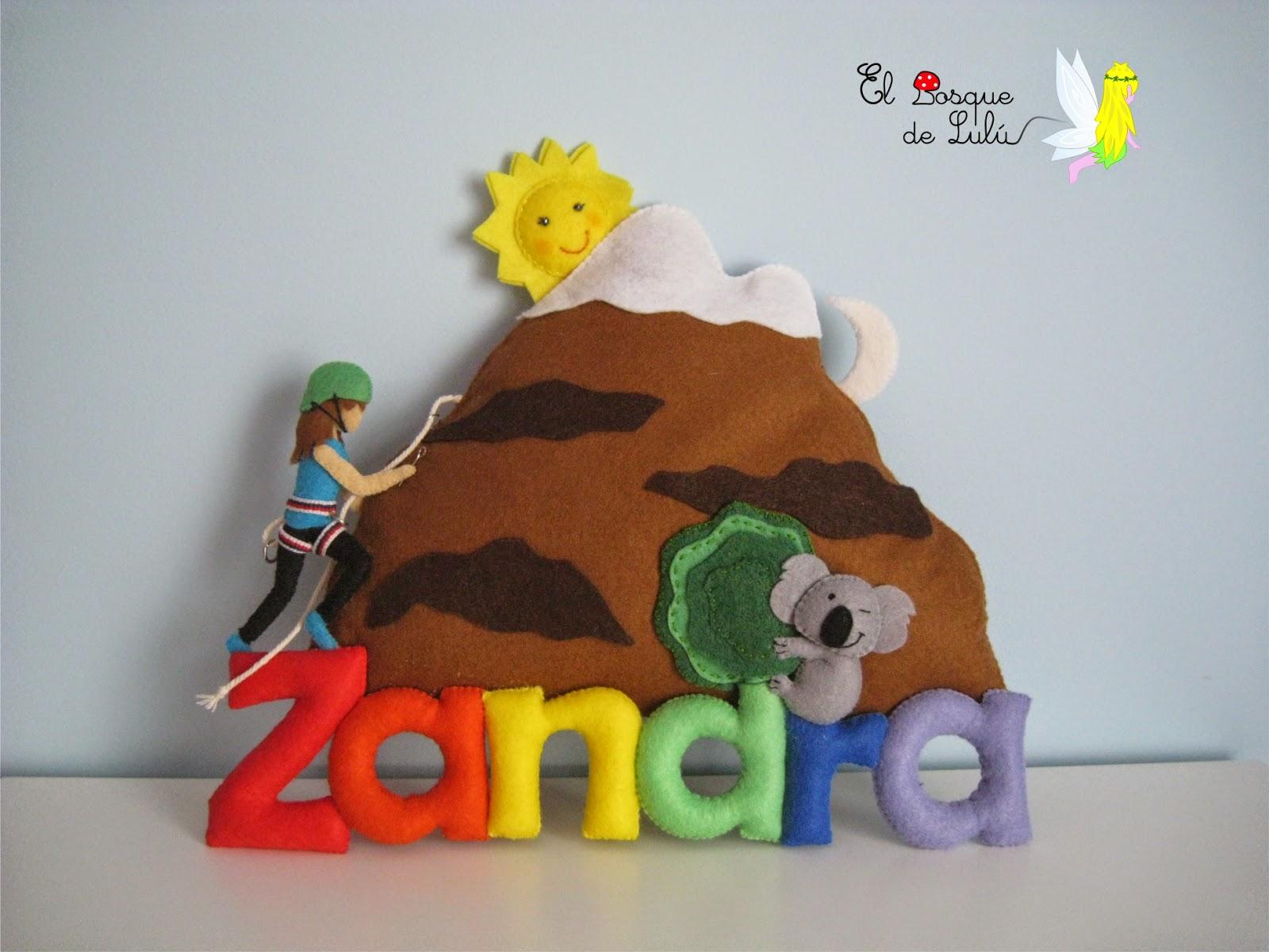 letrero-decorativo-fieltro-nombre-banner-alpinista-escaladora-regalo-personalizado-decoración
