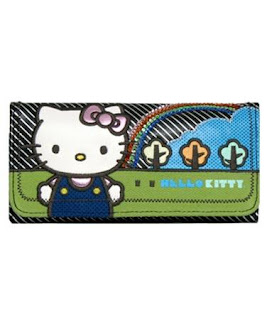 Hello Kitty rainbow purse wallet