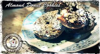Cara Membuat Almond Donut Cookies Istimewa Gurih dan Nikmat