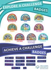 Girl Guides Australia Logo Badge - Girl Guides SA Online Store
