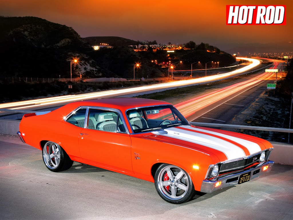 Cars View: Muscle Car Wallpaper