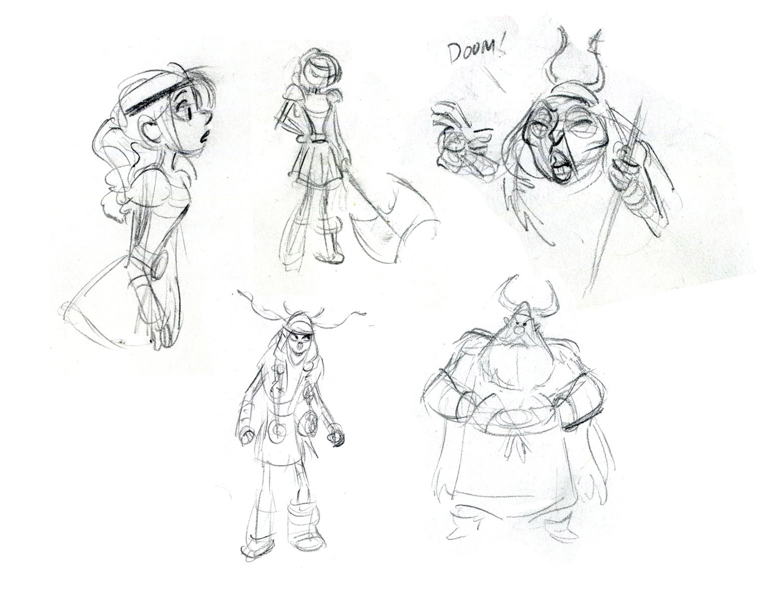 Character Design Library : Living lines library how to train your dragon