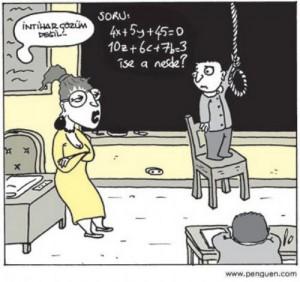 Özel ders karikatürleri 10