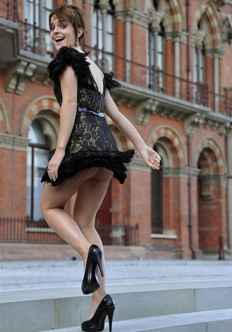 Oh No Emma Watson Panties