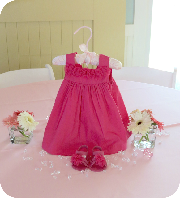 Baby Shower Dress Centerpiece