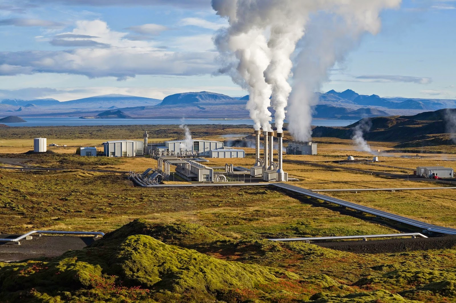 geothermal energy in action