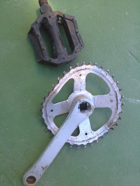 pedal roto
