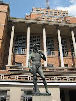 David, monumento, arte, montevideo, uruguay, municipio