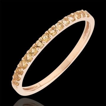 http://es.edenly.com/anillos-piedras-de-color/anillo-una-vuelta-oro-rosa-cetrino-amarillo,1711,33.html