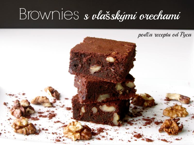 recept na to najlepšie brownies