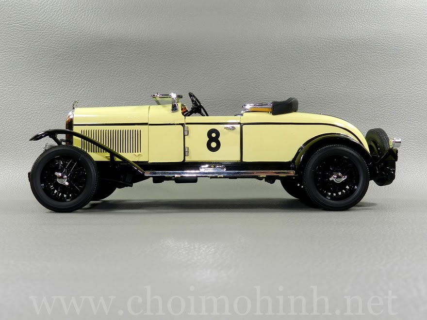 Chrysler Model 72 Le Mans1928 1:18 Signature side