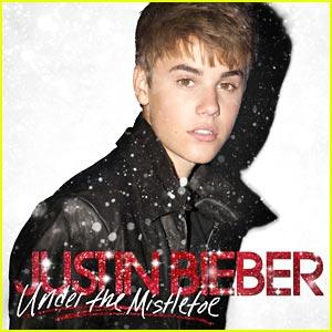 Justin Bieber Unveils Christmas Album Cover 2011