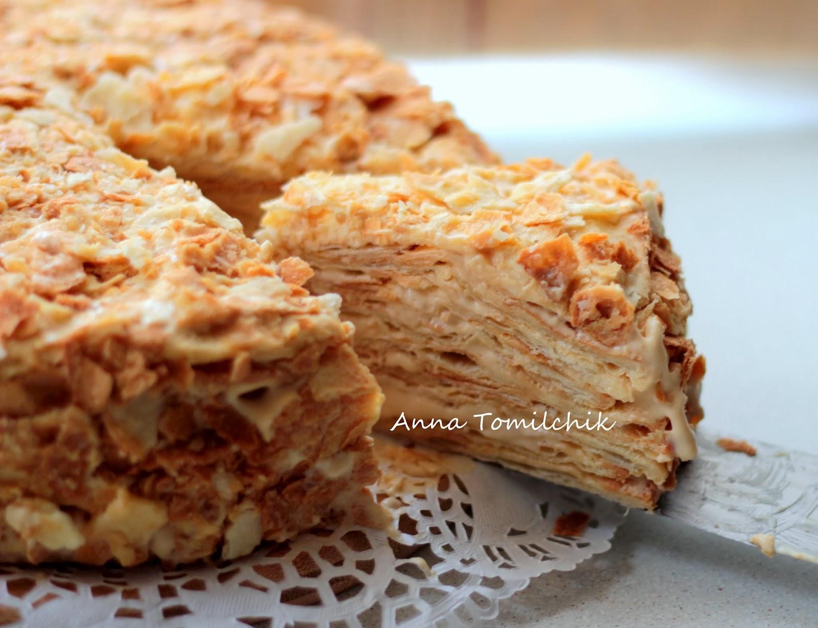 Торт Наполеон в домашних условиях - рецепт с фото 10
