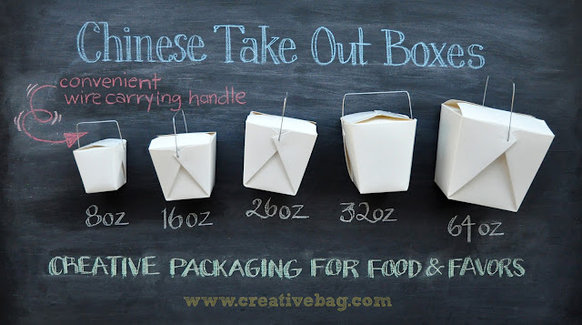 Clear Chinese Take Out Favor Boxes : The creative bag chinese take out boxes and customer