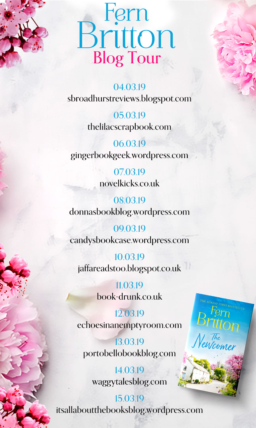 The Newcomer Blog Tour
