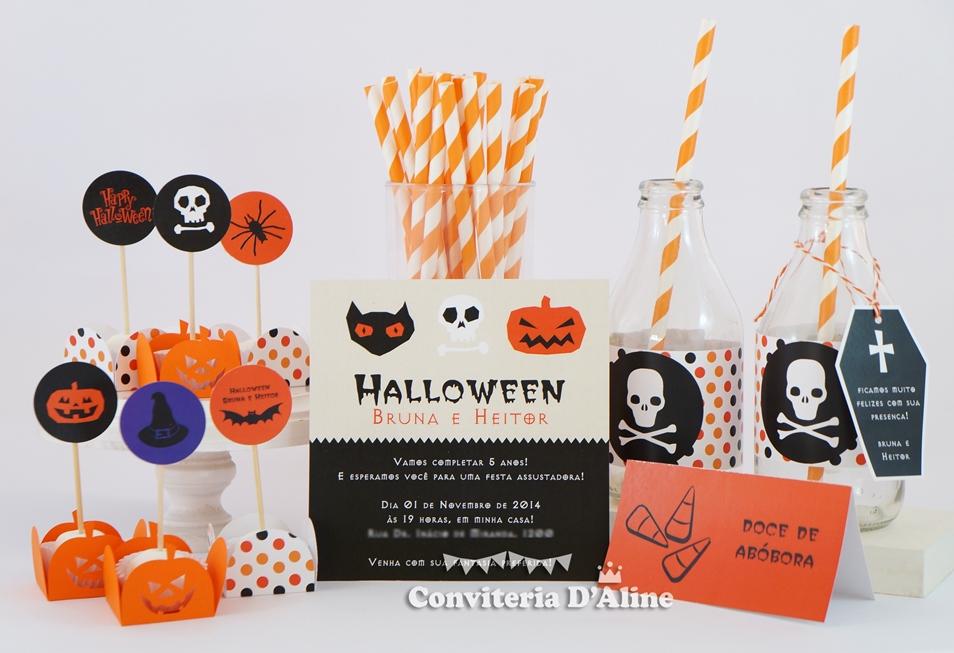 festa personalizada halloween