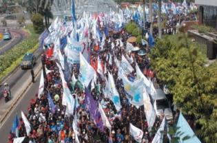 Buruh Medan Ancam Demo Selama Tiga Hari