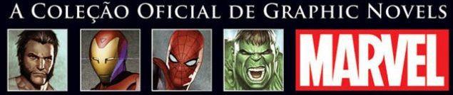 A Coleção Oficial de Graphic Novels da Marvel
