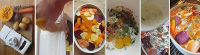 Zubereitung Herbstliches Gemüsegratin