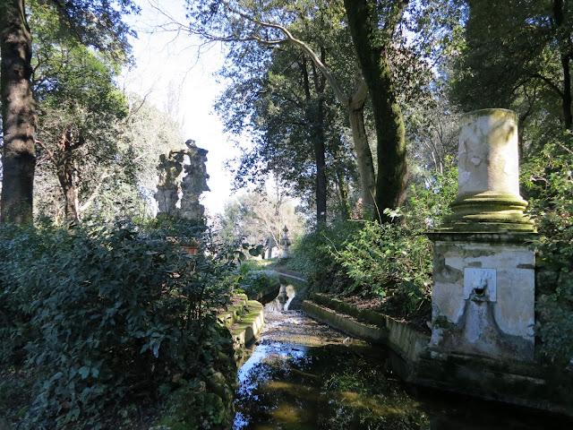 Canale del Drago, Giardino Bardini, Firenze