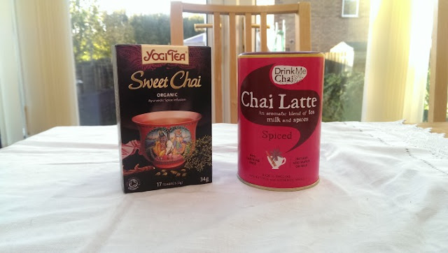Chai tea and latte
