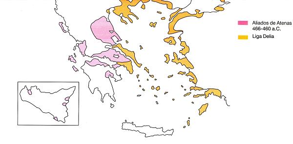Grecia - Liga de Delos - Historia de las civilizaciones