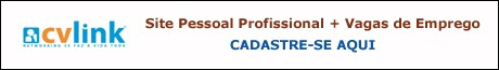 cvlink - site pessoal profissional + vagas