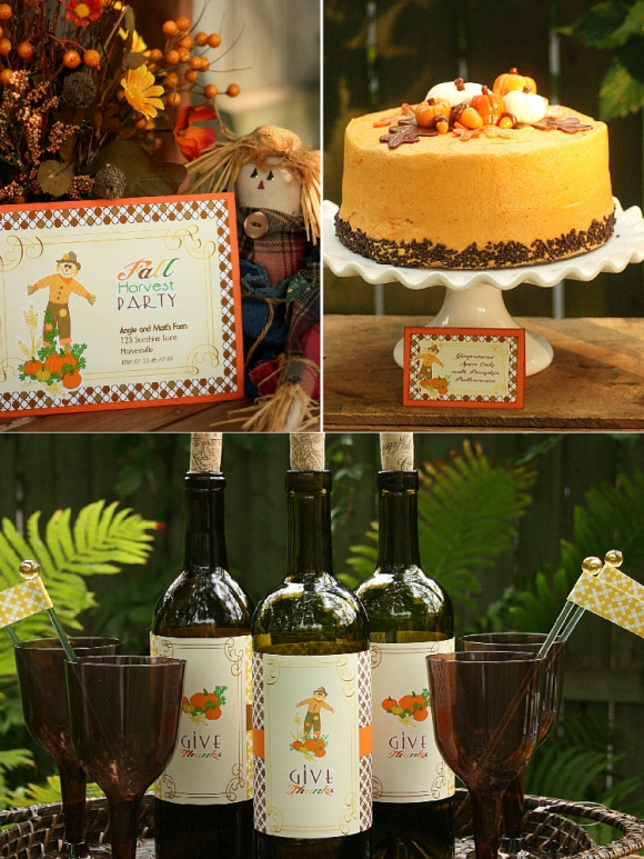 Bird's Party Blog: Styled Shoot: Fall Harvest Party for your ...