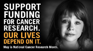 National Cancer Research Month Support