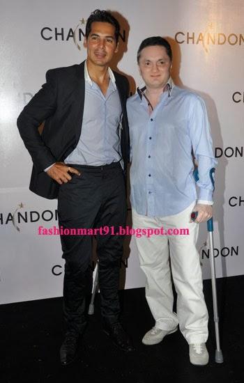 Dino Morea with Gautam Singhania