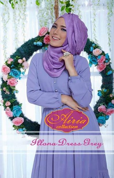Contoh Model Baju Muslim Modis Masa Kini Terbaru 2015