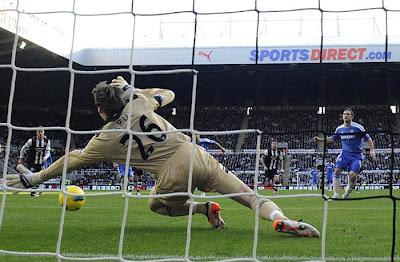 Newcastle United 0 - 3 Chelsea (1)