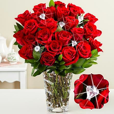 valentine day flowers pictures