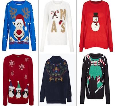 święta, boże narodzenie, zima, 2015, przegląd swetrów