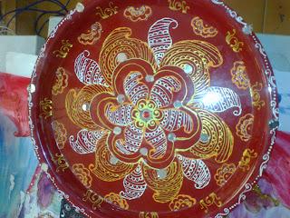 Puja Thali Art