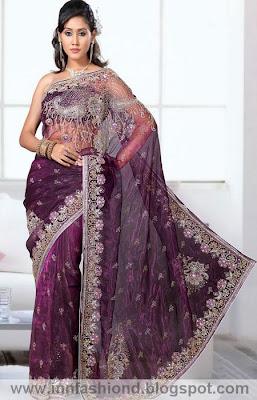 Indian Tissue Saree