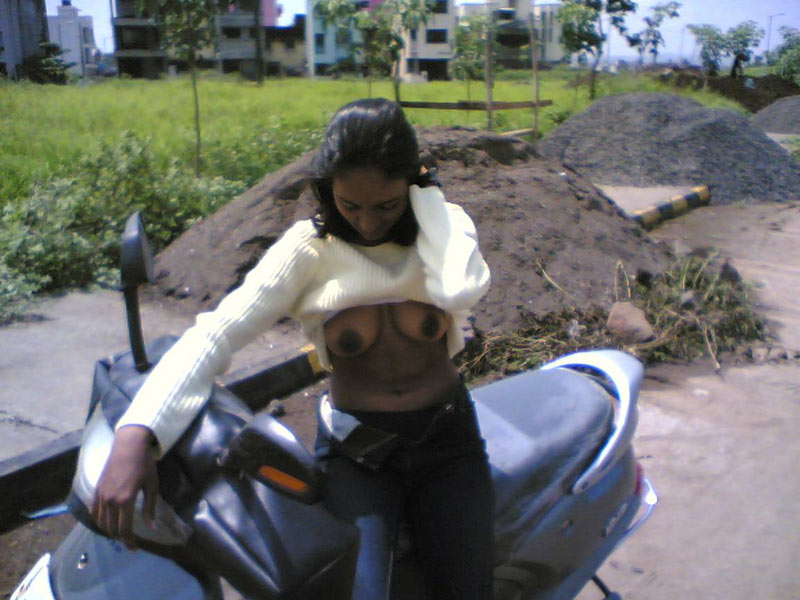 indian nude on road