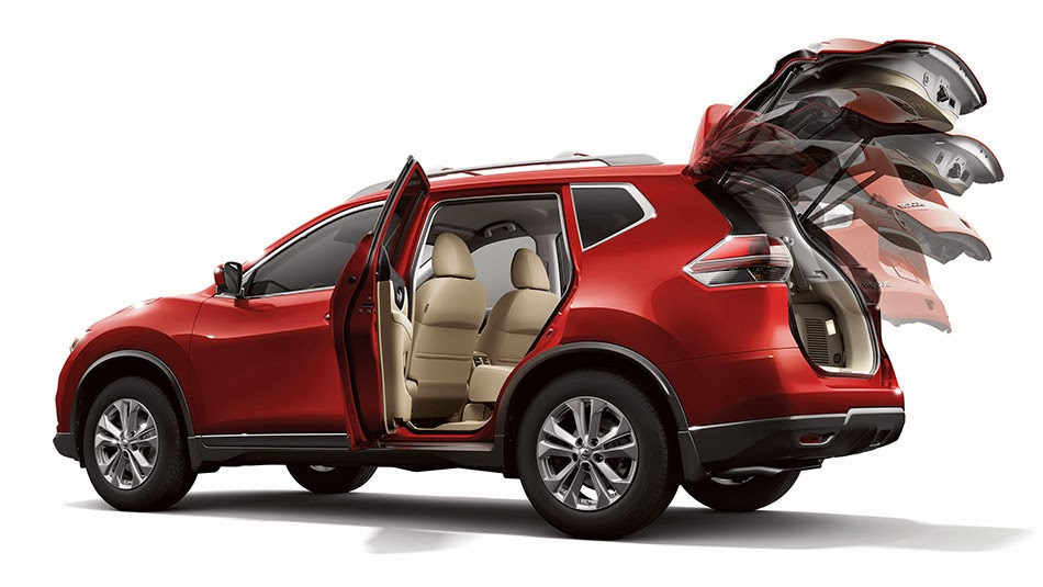 nissan rogue 2014 shown dynamic with folding seats mycarzilla. Black Bedroom Furniture Sets. Home Design Ideas