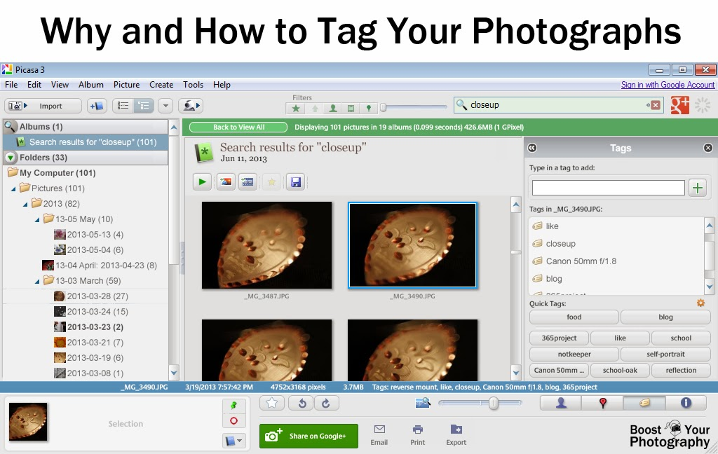 Why and How to Tag Your Photographs | Boost Your Photography