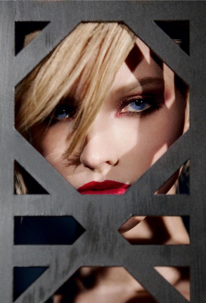 Sasha Luss - Dior Make Up Campaign