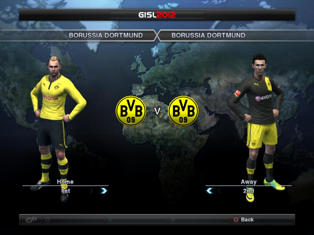 Download New Kits Borussia Dortmund 2012/2013 for PES 2012