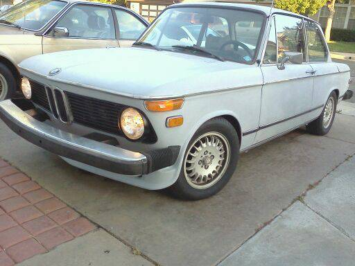 Daily Turismo: 5k: Tiime For Resto: 1974 BMW 2002 Tii