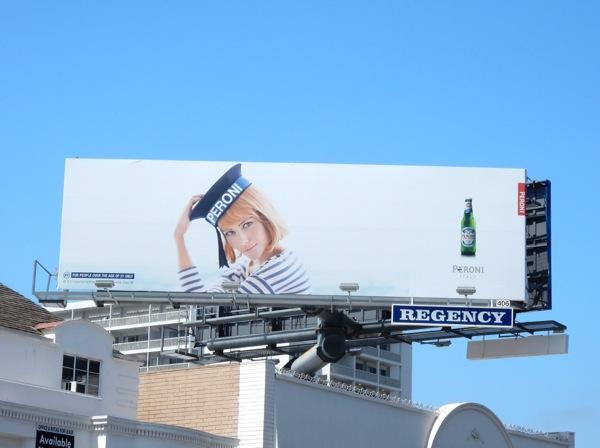 Natalia Borges Peroni Sailor Girl billboard