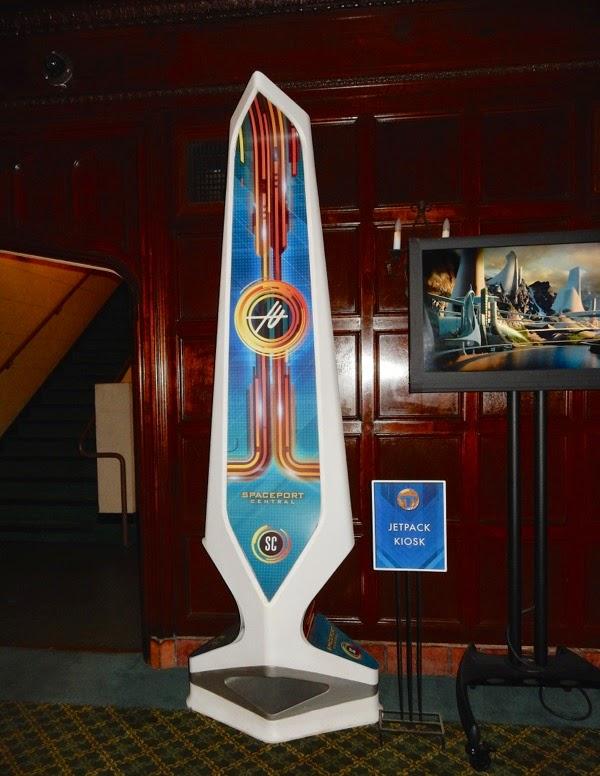 Tomorrowland jetpack kiosk prop