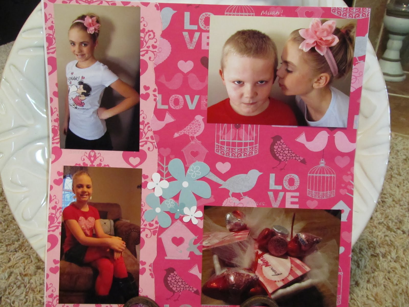 Justin bieber scrapbook ideas - Part Of The 2 Page Layout I Love Holidays One Day Of Holiday Themed Clothing Is Not Enough For Me So I Try To Dress My Kids In At Least A