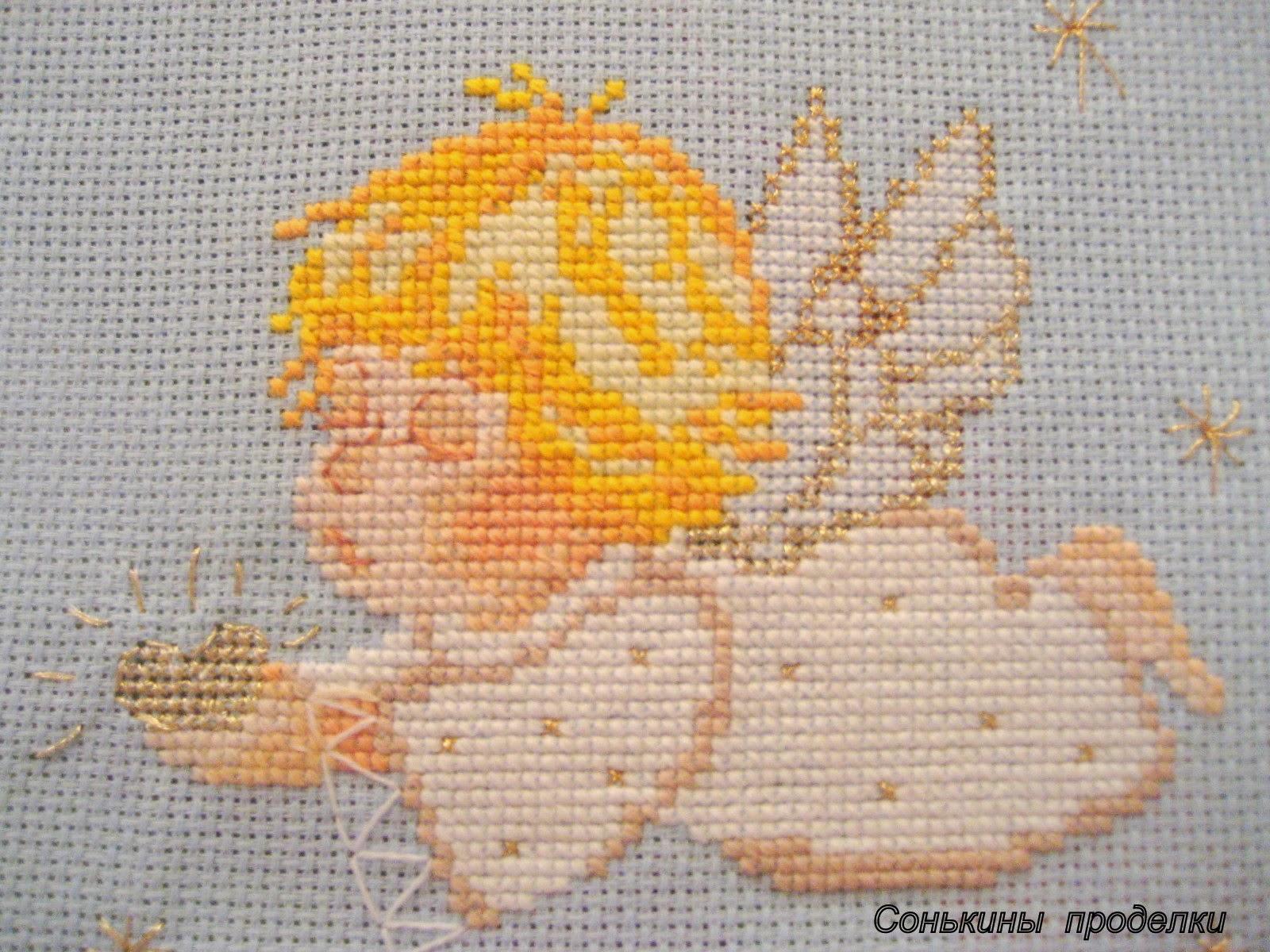 схема маленько ангелочка