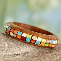 http://jewelry.novica.com/bracelets/favorites/wood-bangle-bracelet-mumbai-mosaic/196645/