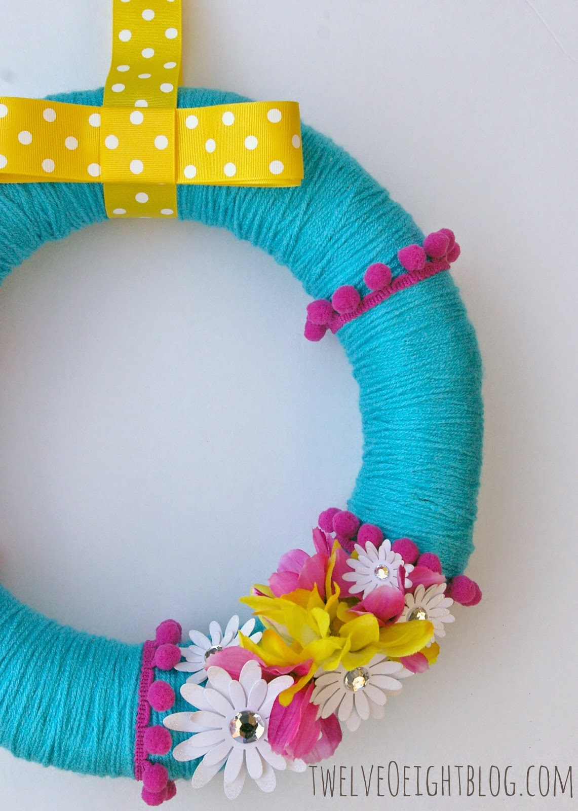 wreath, diy wreath, summer wreath