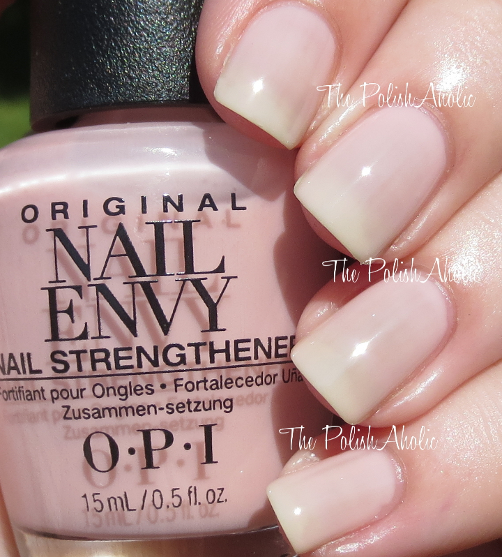 The PolishAholic: OPI Nail Envy Strength In Color Collection ...