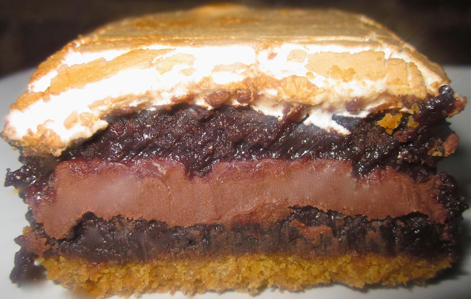 Gourmet S'more Brownie Bars
